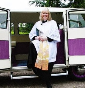 Vicar of St Cuthbert's Ormesby - The Revd Jennifer Croft