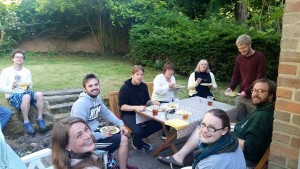 Pie and pea supper for the Ordinands